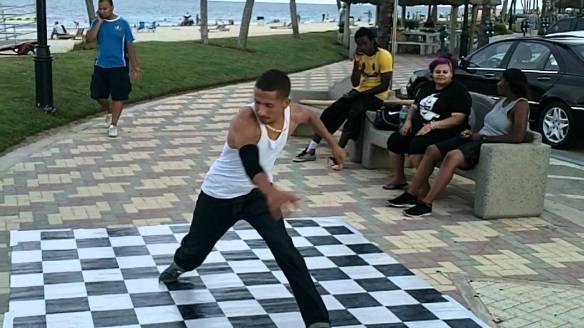 linoleum breakdance