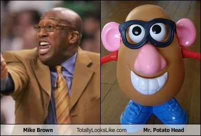 Mike Brown Potato Head